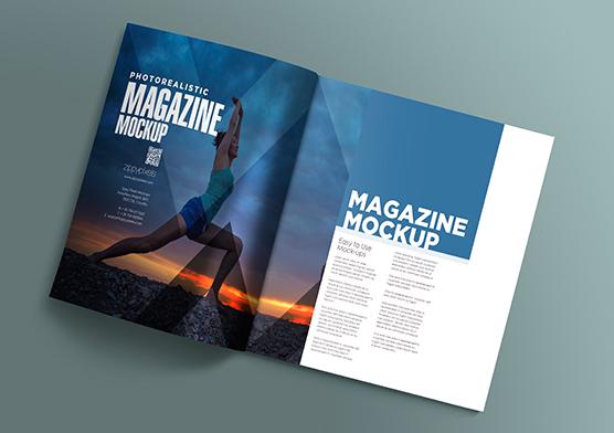 17 Open Magazine Mockups   ZippyPixels