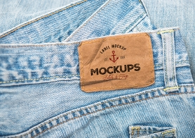 10 High Quality Clothing Label Mockups Vol. 3