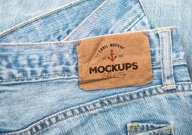 10 High Quality Clothing Label Mockups Vol. 3