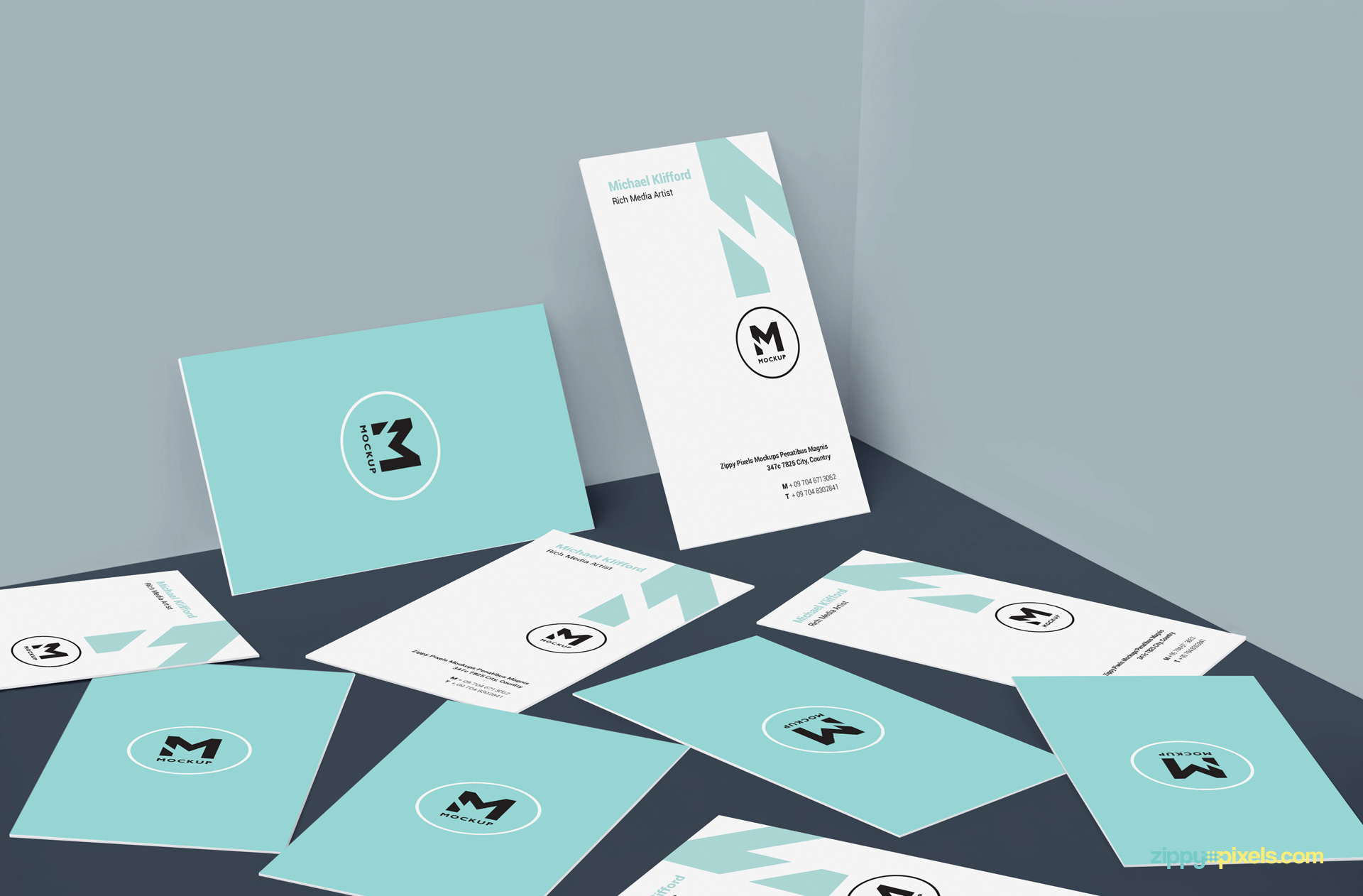 Free business card design mockup zippypixels smart object based free business card design mockup magicingreecefo Gallery