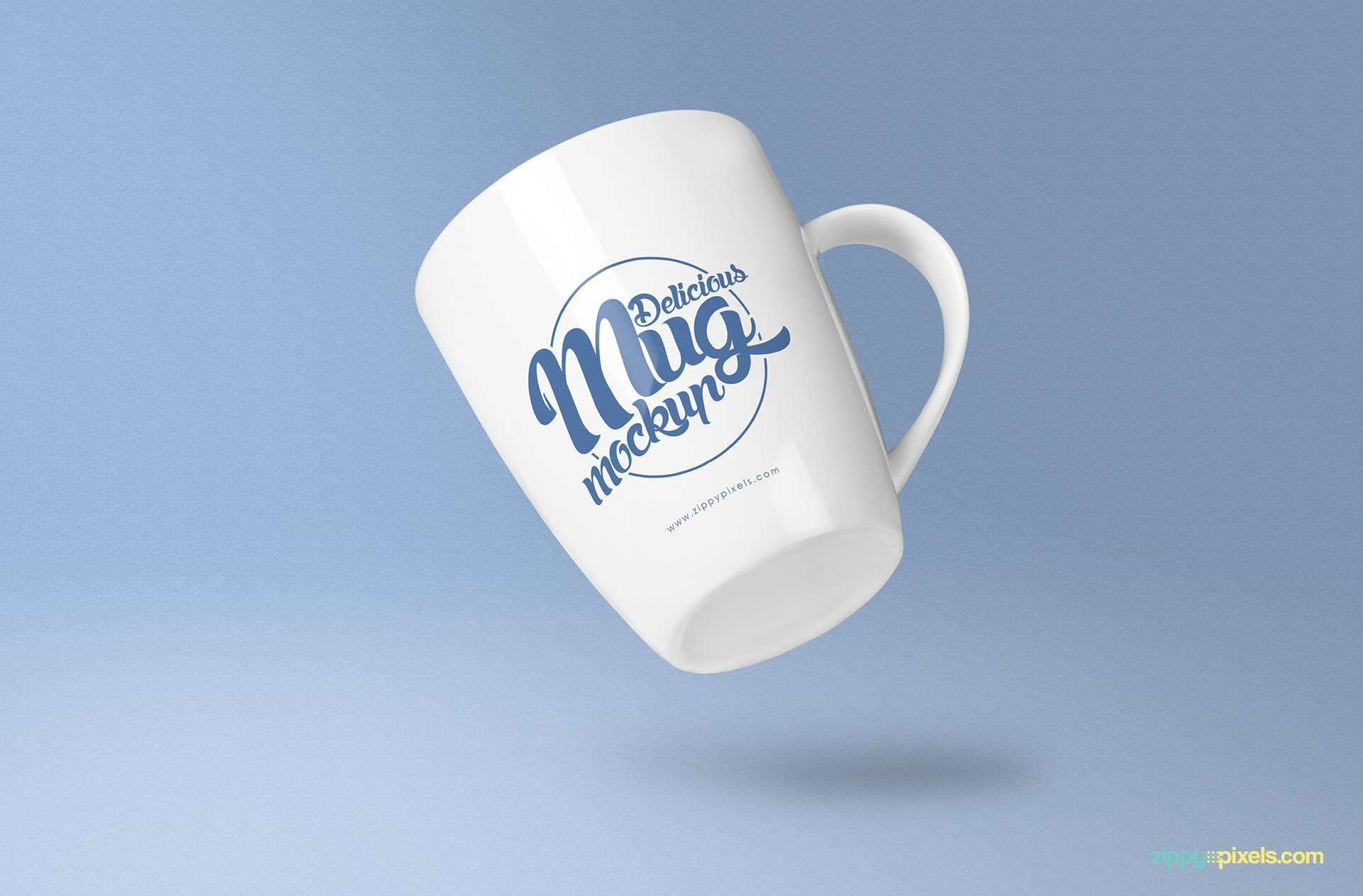 Coffee Mug Design Template