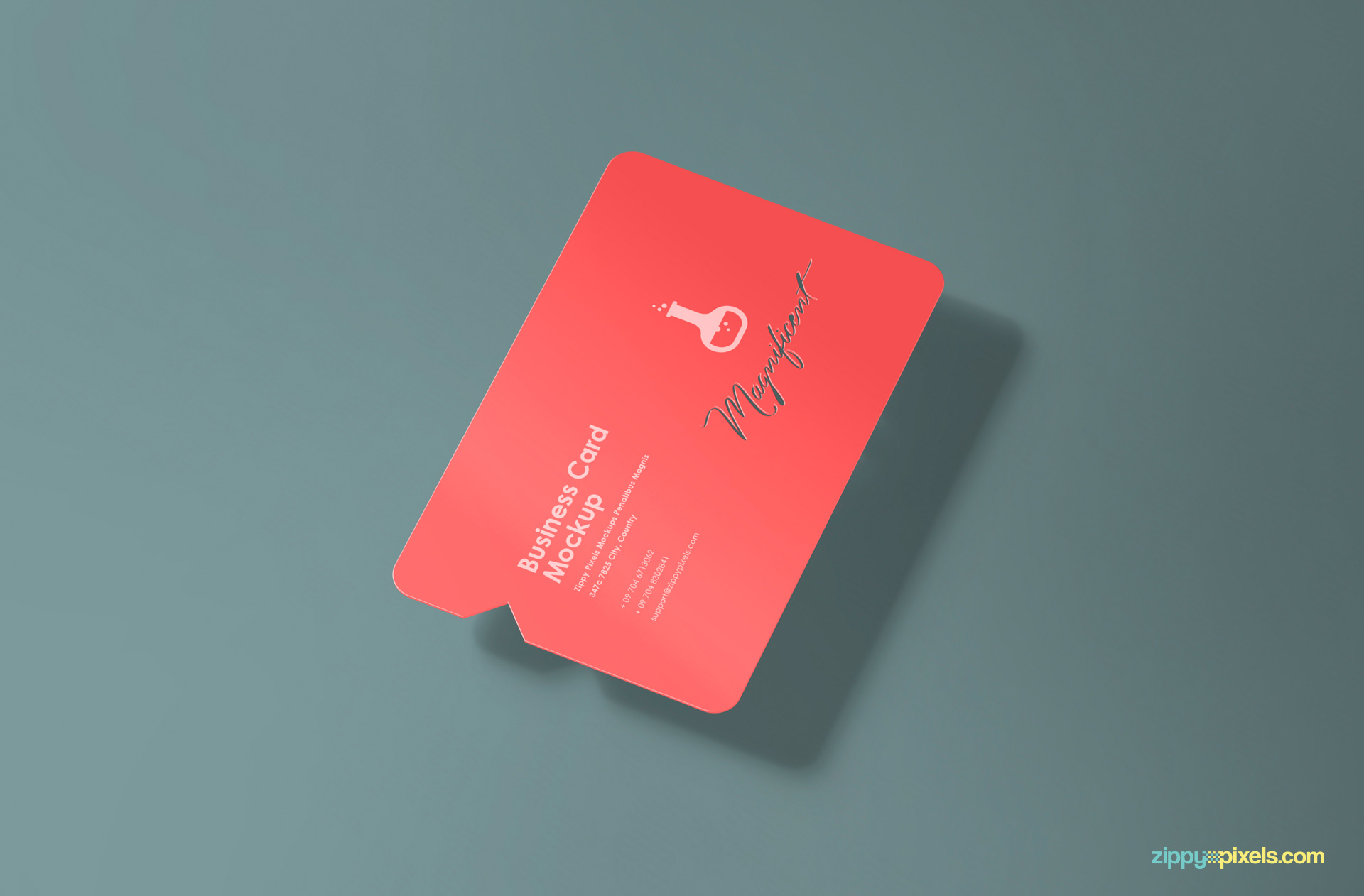 print ready free die cut business card mocks