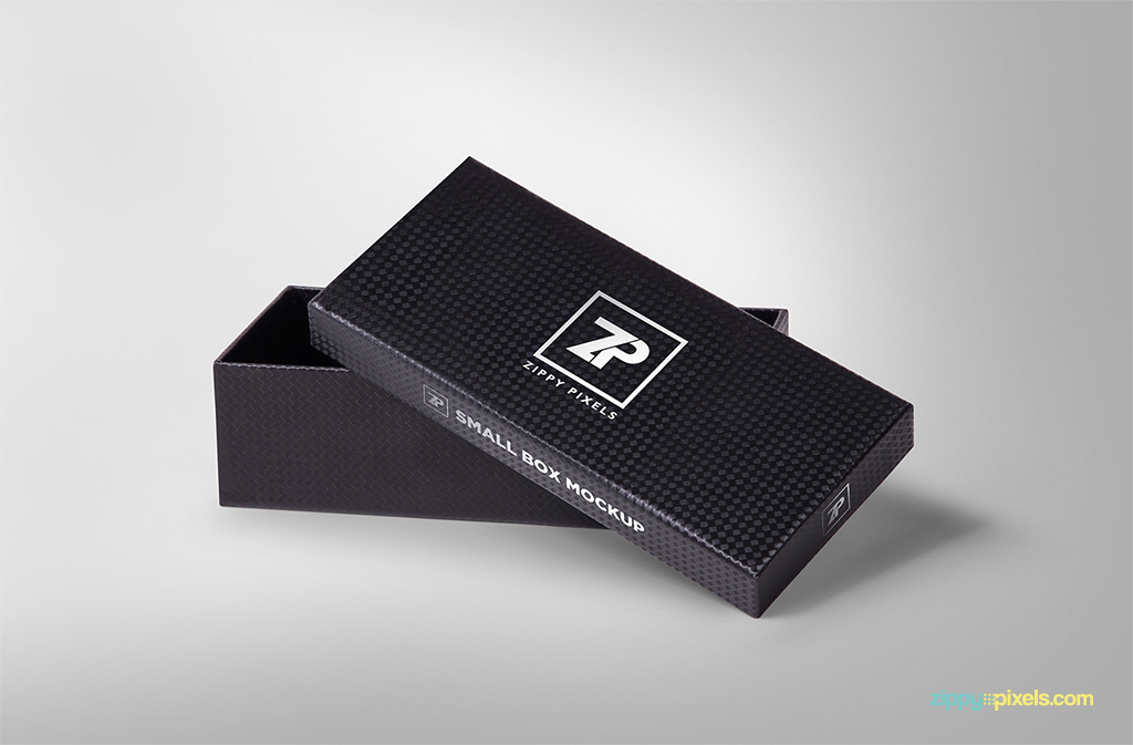 free gift box mockup for packaging designs