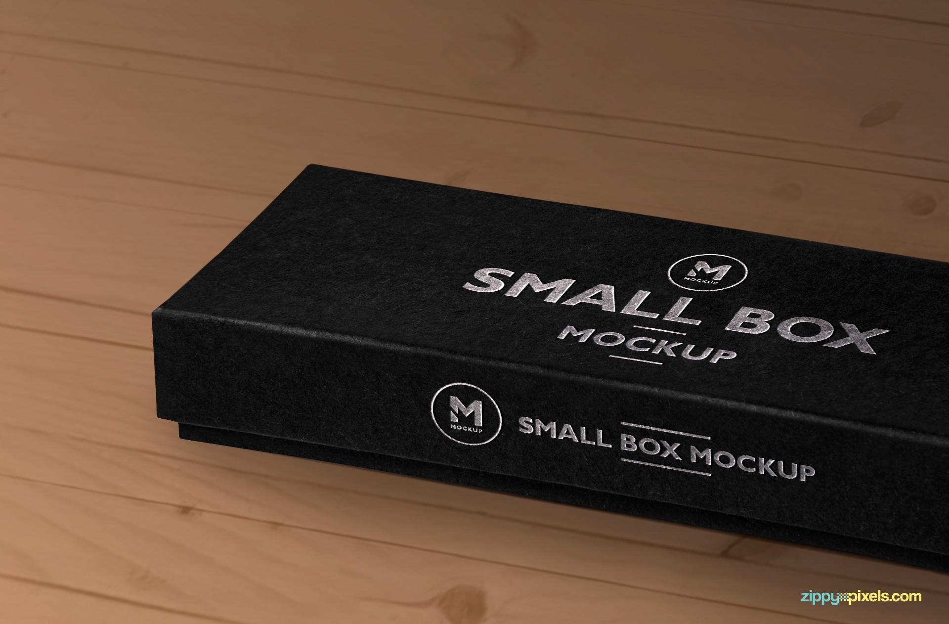 smart object based free box mock-up psd