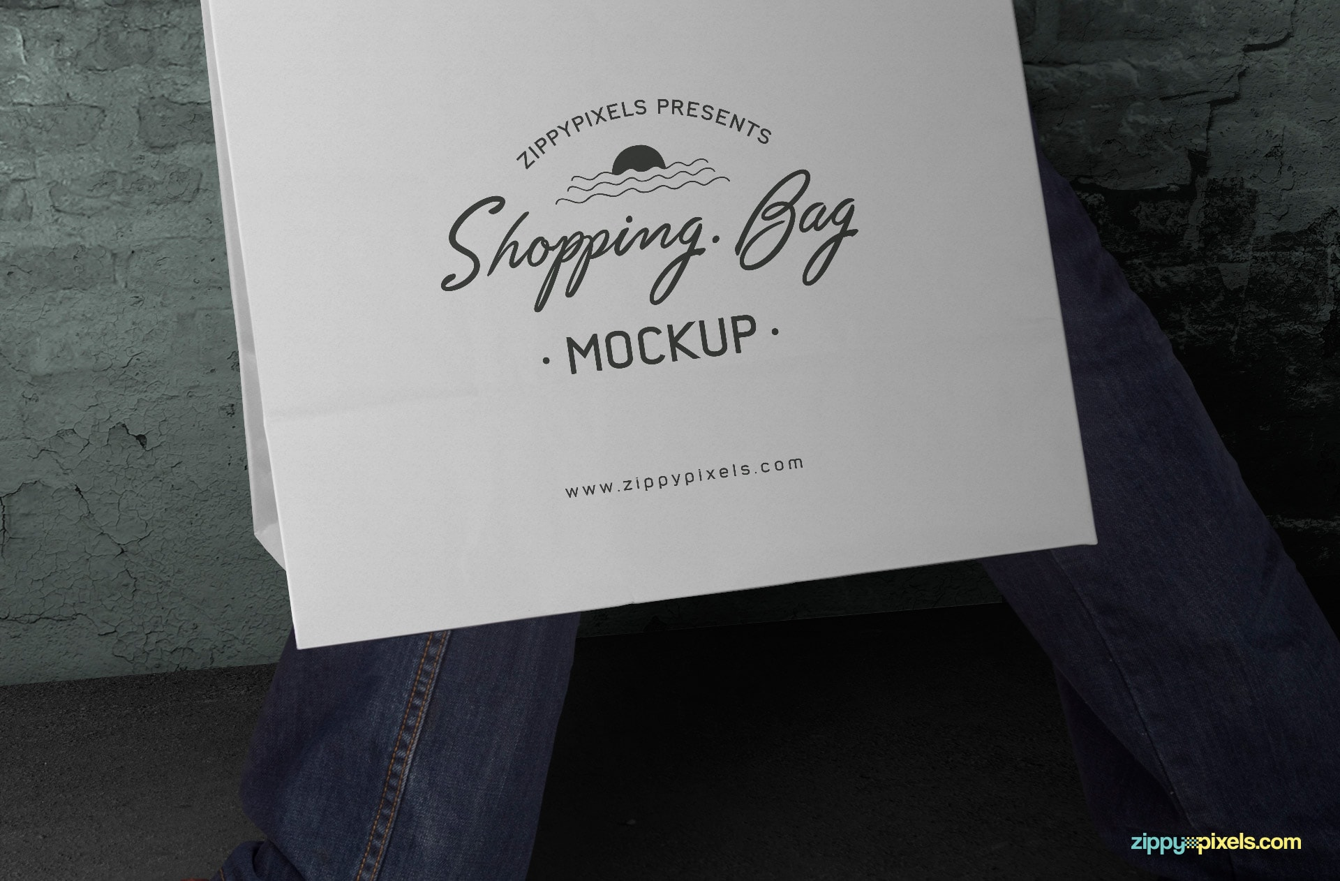 showcase your logo designs and more with this awesome free paper shopping bag mock-up