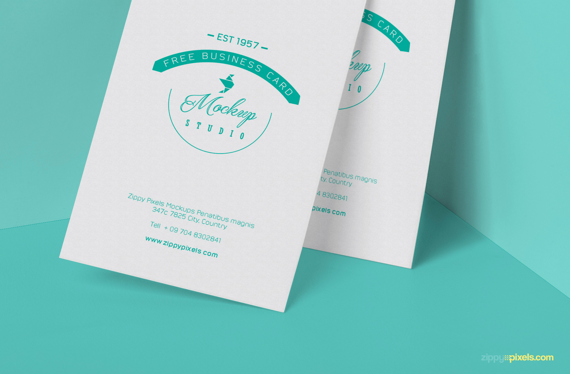 free visiting card psd for your business and corporate design projects