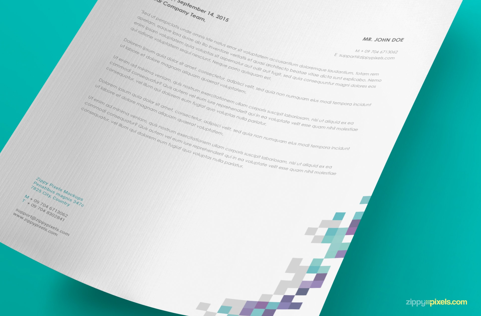 present your stationery, letterhead, logos, sketches and other print designs