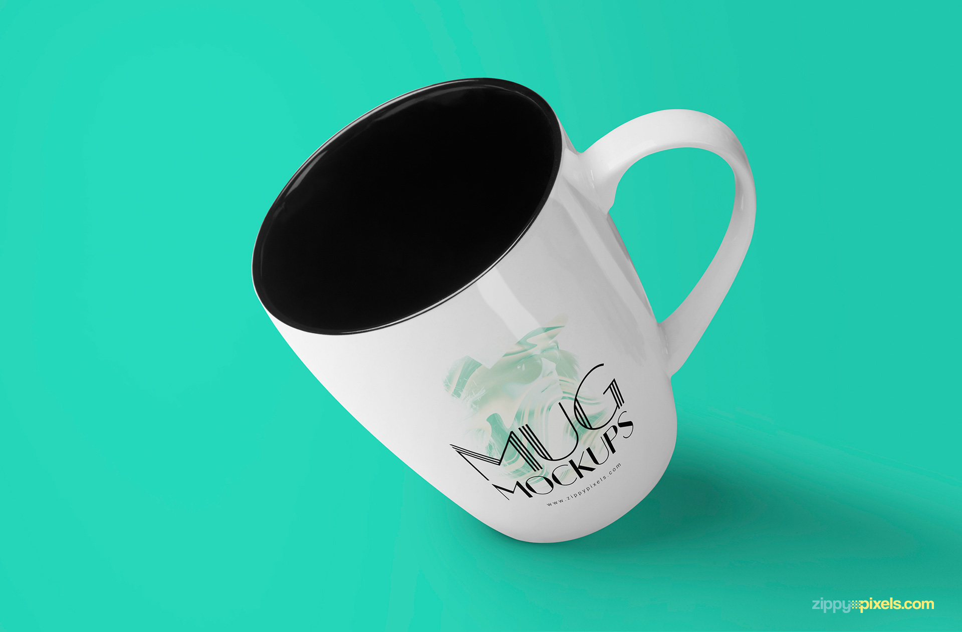 free coffee cup mock-up that will allow you to present your logo designs and typography