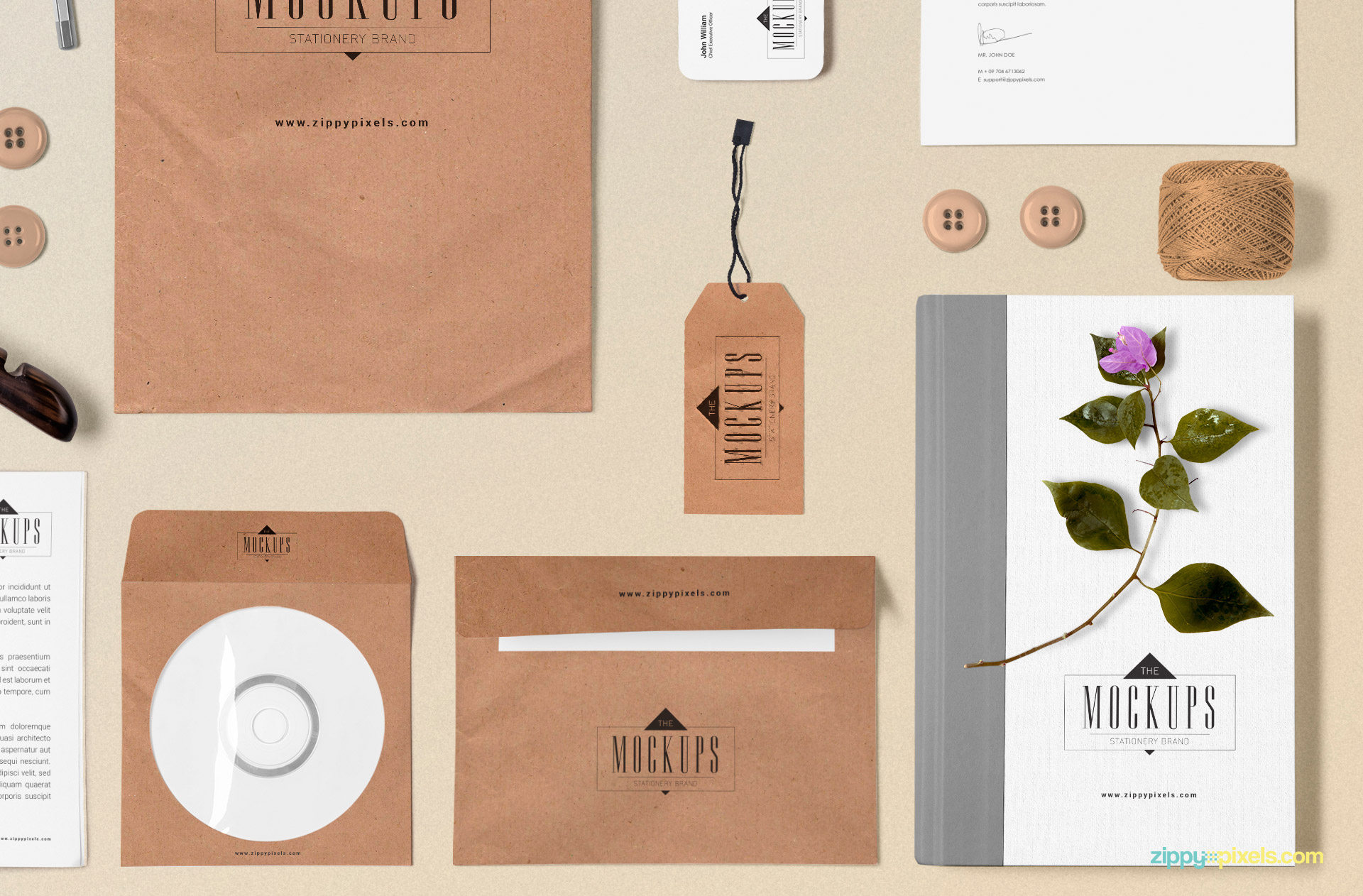 create the perfect scenes for your branding designs