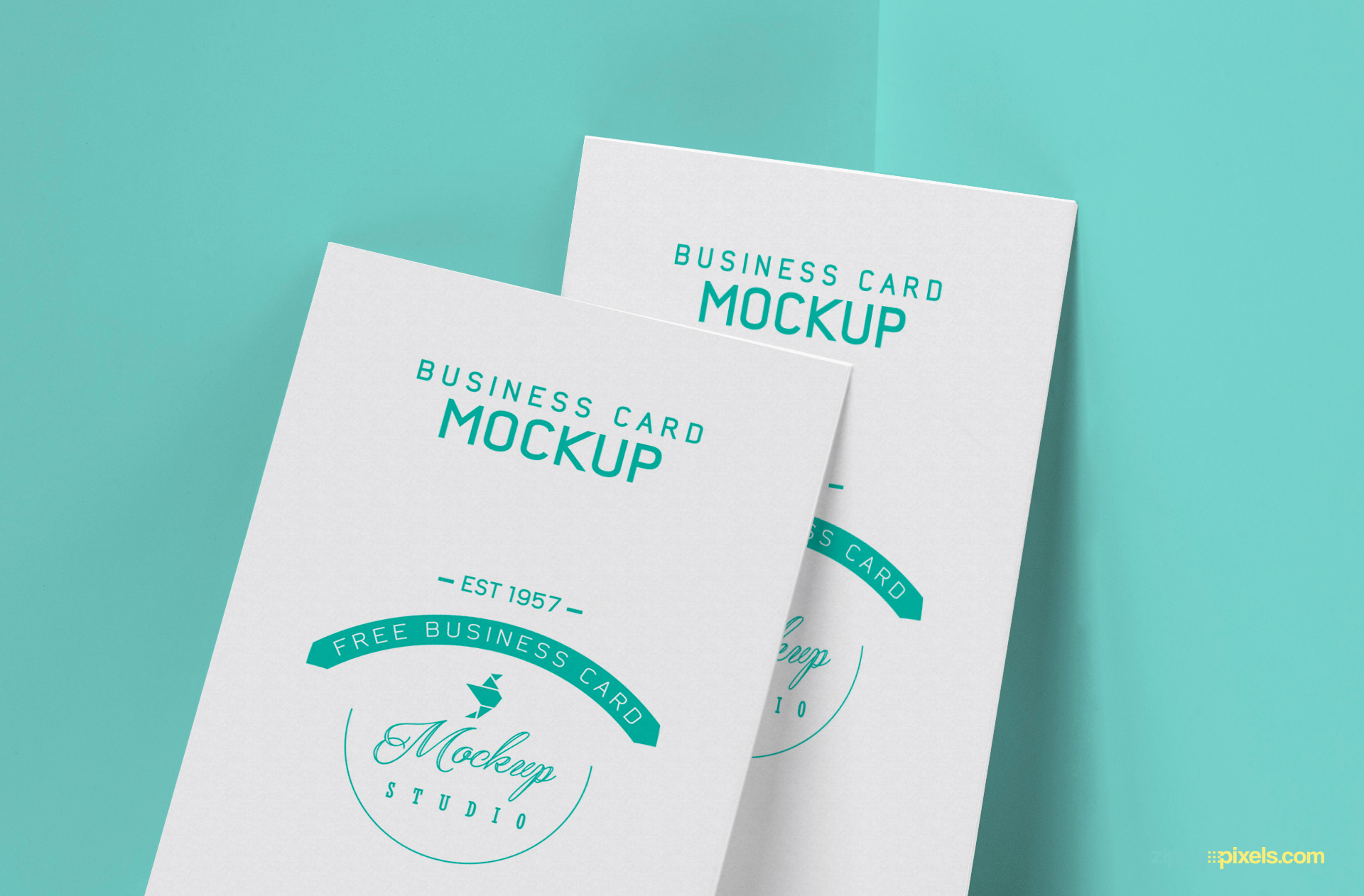 free visiting card with customizable front design