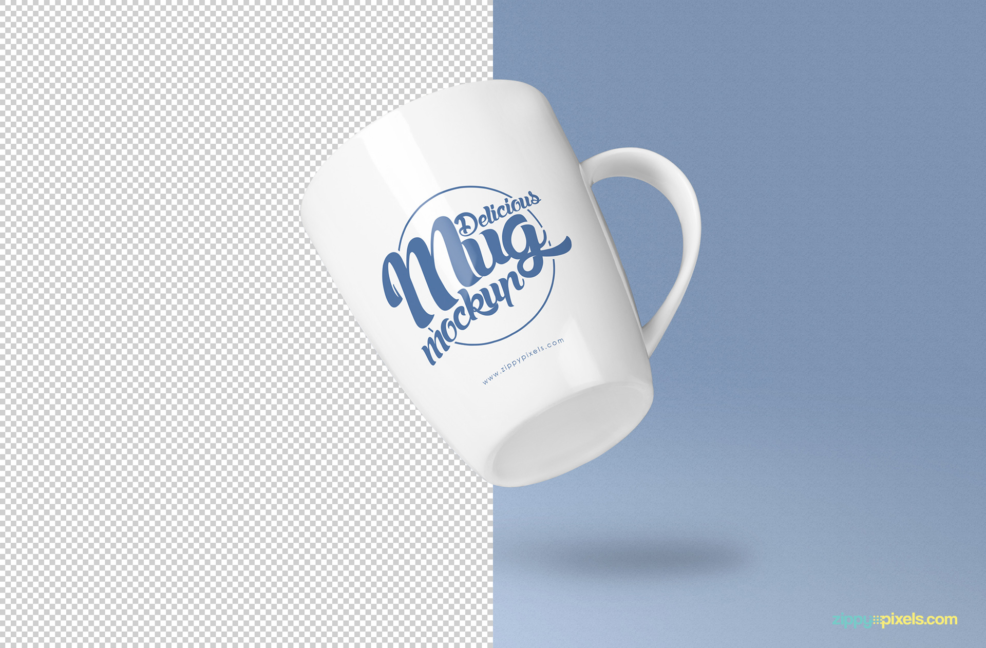 high quality coffee mug mockup psd