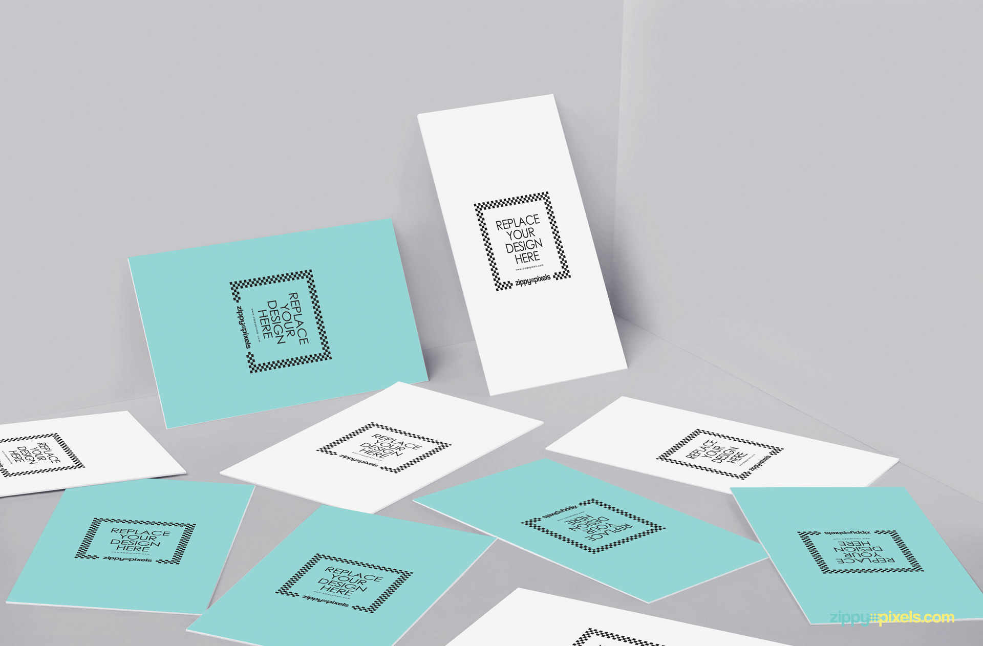 showcase your card designs in a unique manner