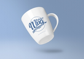 Free Awesome Coffee Mug Mockup PSD's