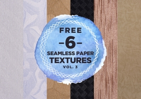 6 Free Gorgeous Paper Pattern Backgrounds