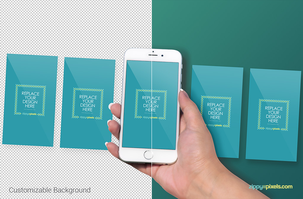 5 iphone 6s screens to display your UI/UX designs