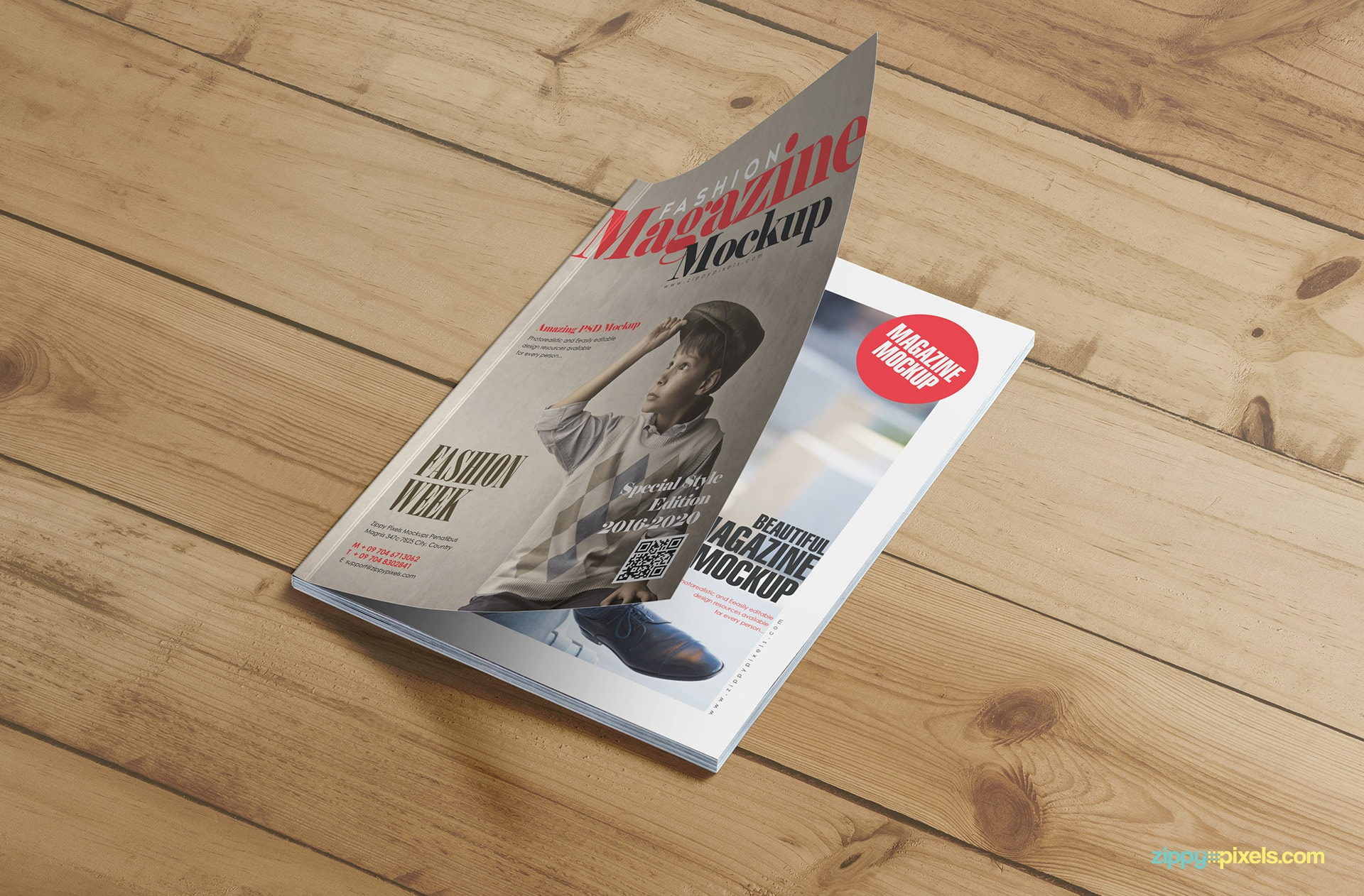 high quality magazine mockups for image based designs
