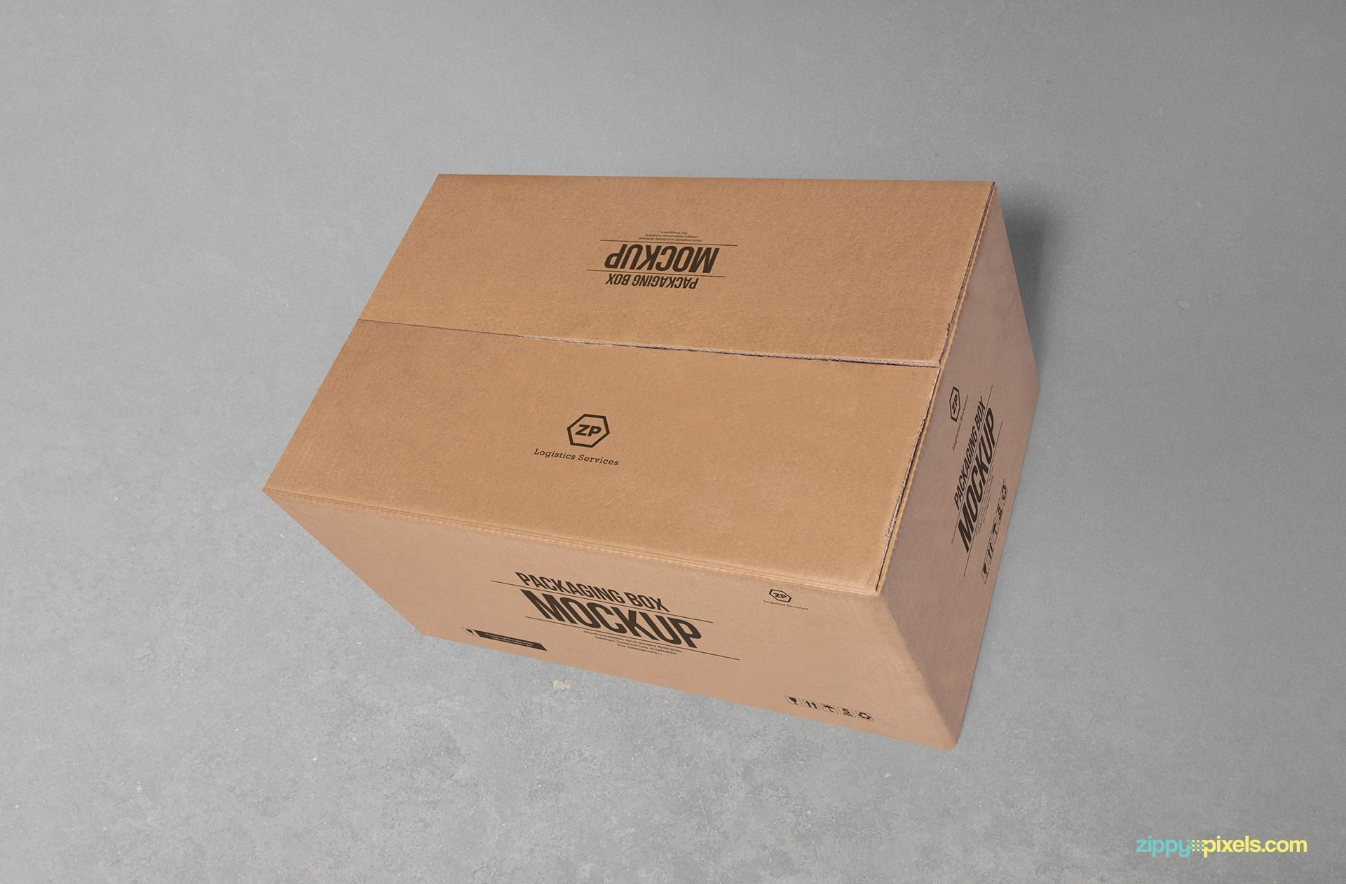 cardboard-packaging-box-mockup-closed
