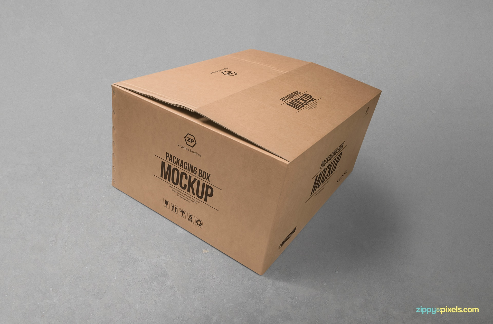 cardboard-packaging-box-mockup-slightly-open