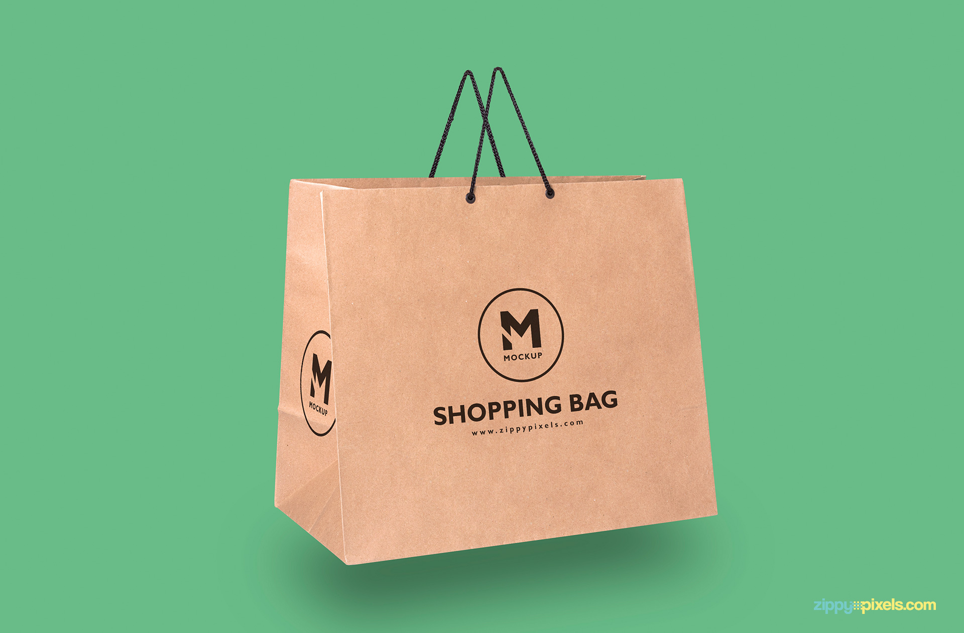 paper-bag-hovering-in-air-front-side-view