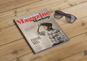 15 Fashion Magazine Cover Mockups & Inner Page Mockups (US Letter Size)
