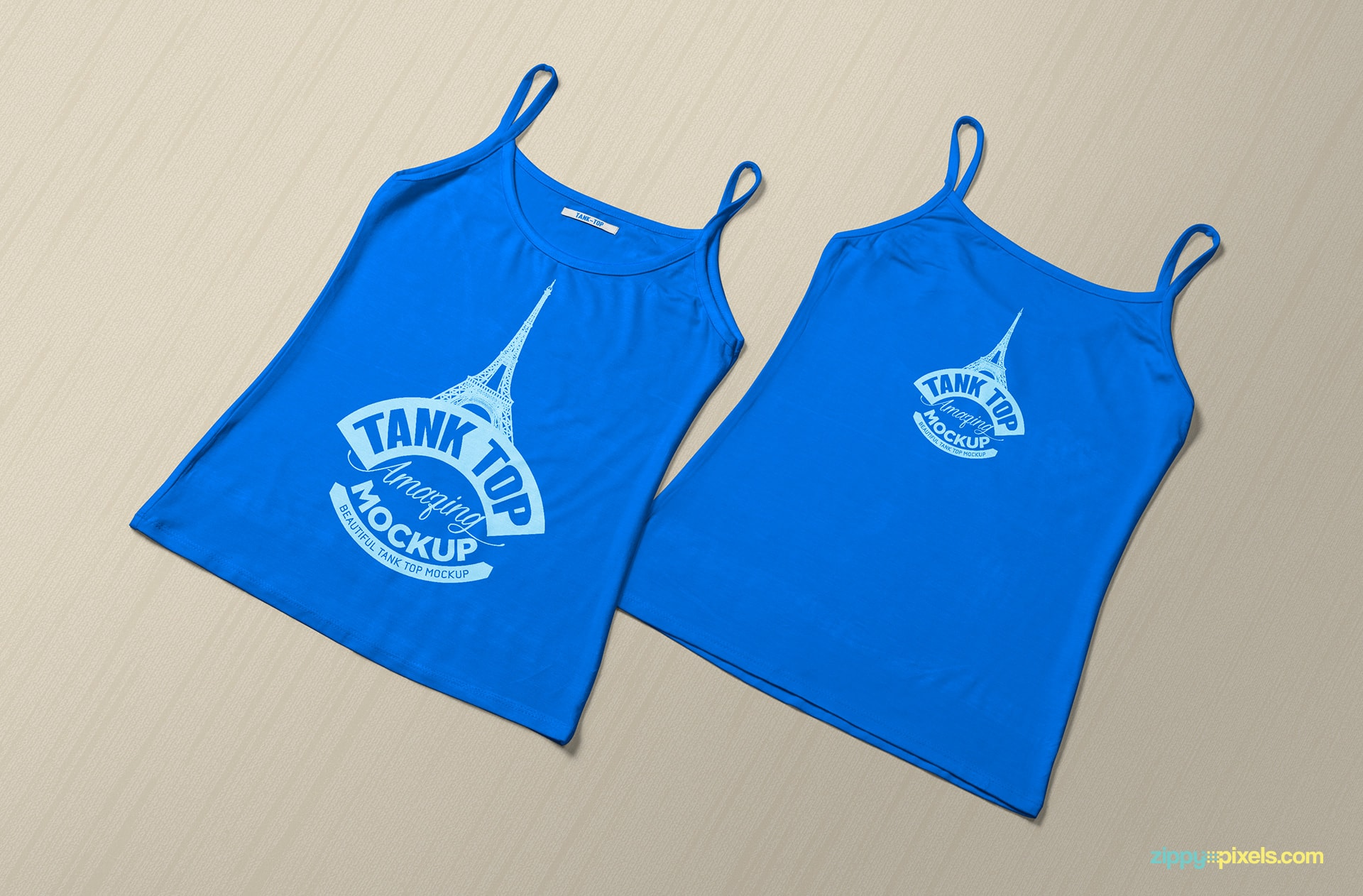 women-tank-top-mockup-on-ground-front-back