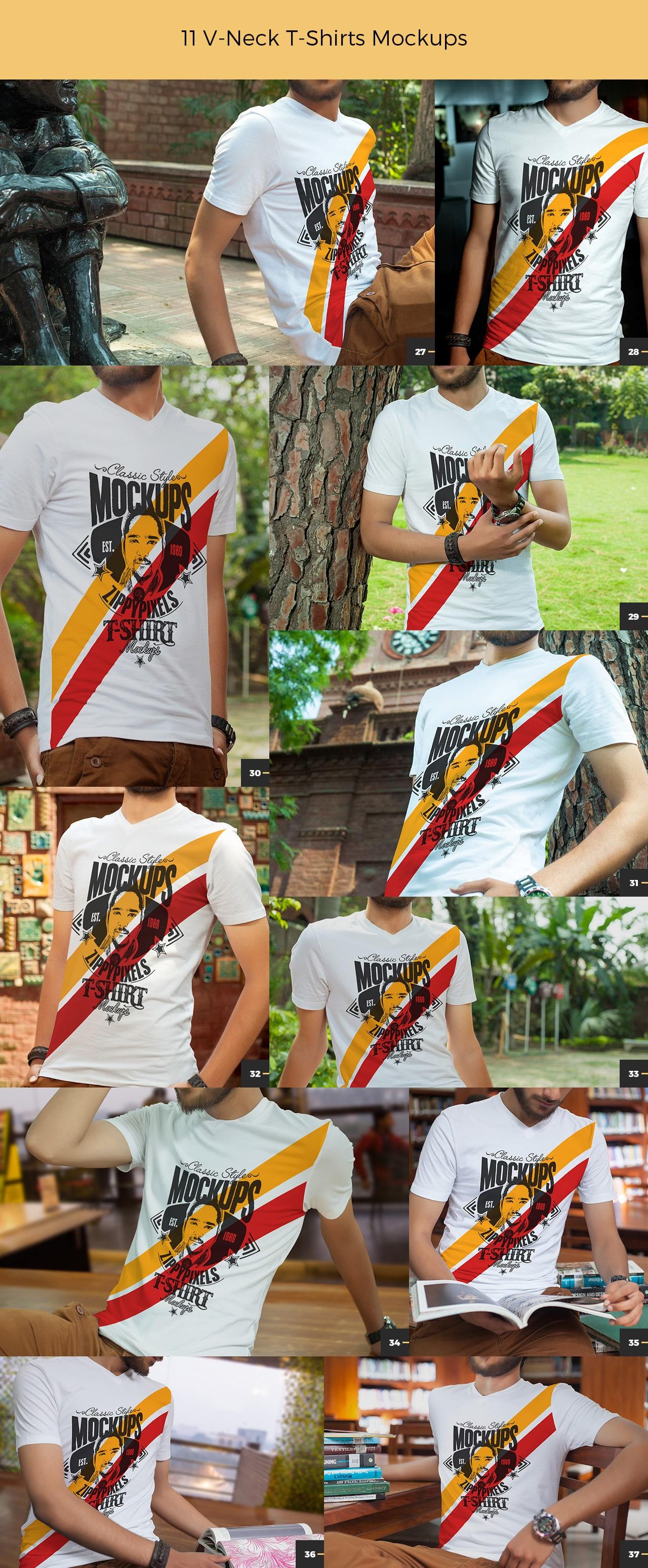 v-neck-t-shirt-mockups