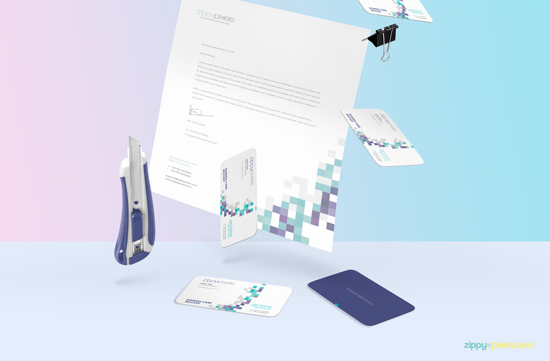gravity-scene-A4-paper-paper-cutter-business-card-2