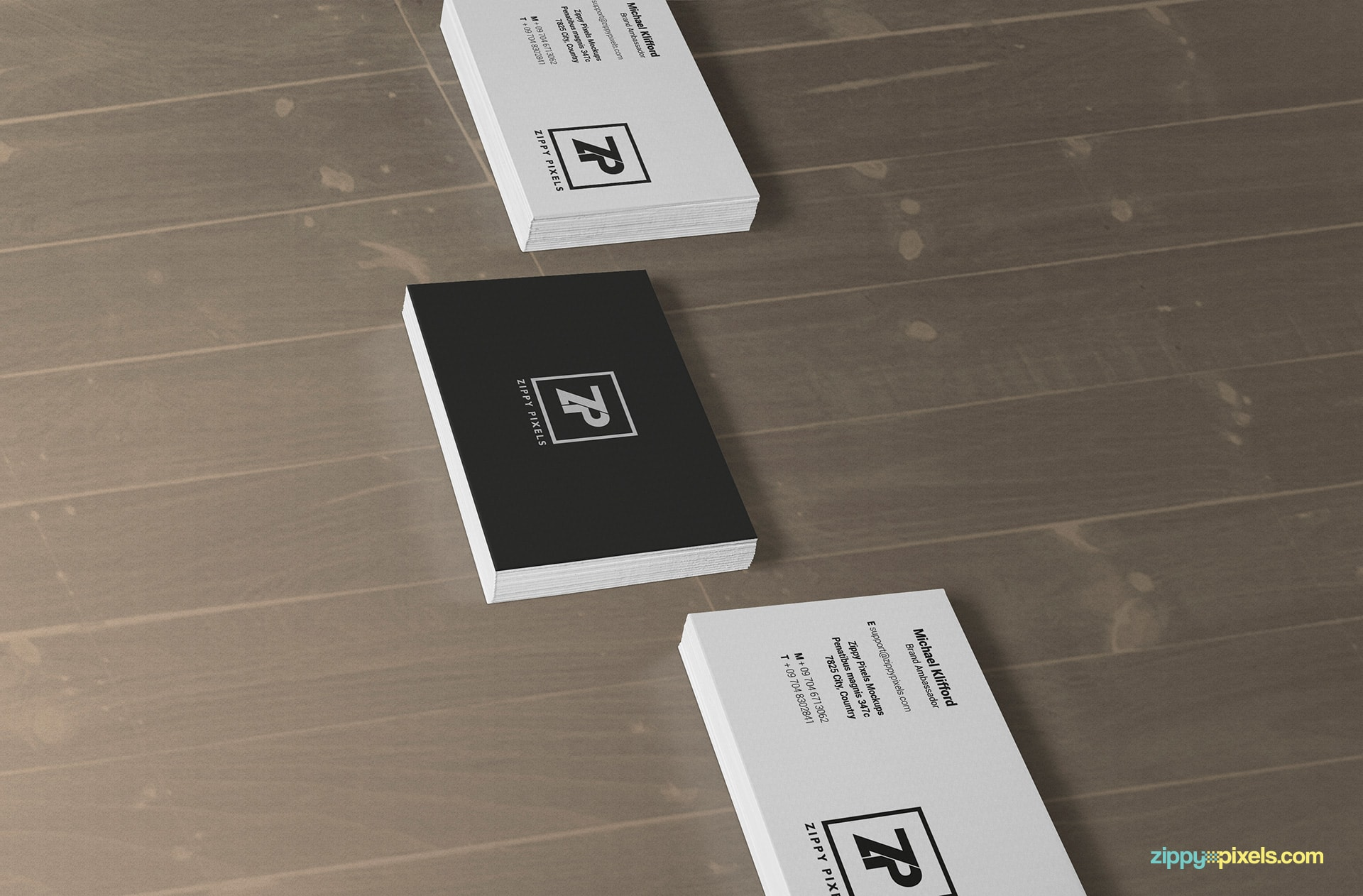 stacked-business-card-mockups-perspecitive-view