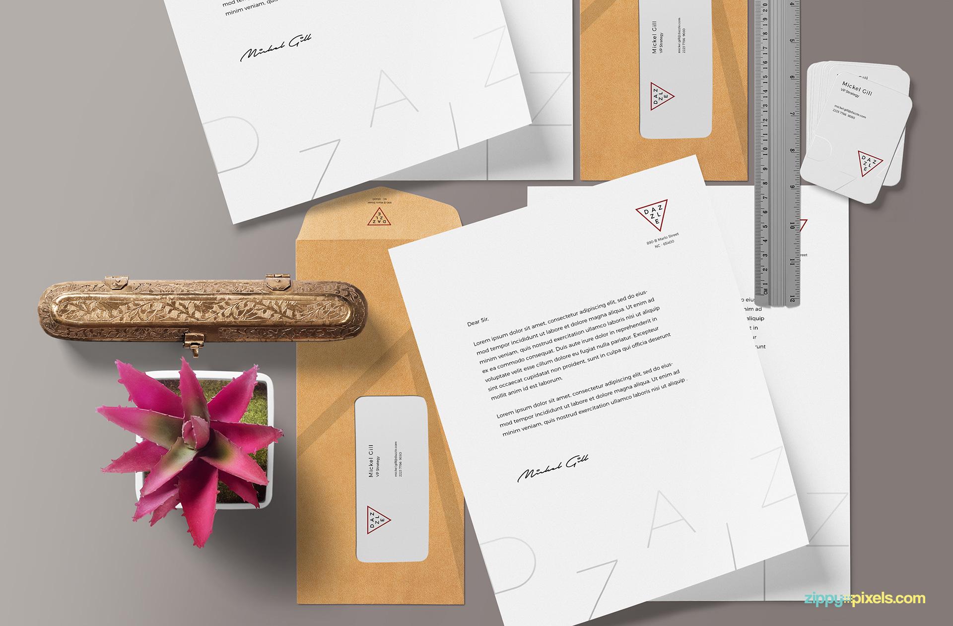 mockup-scene-paper-envelope