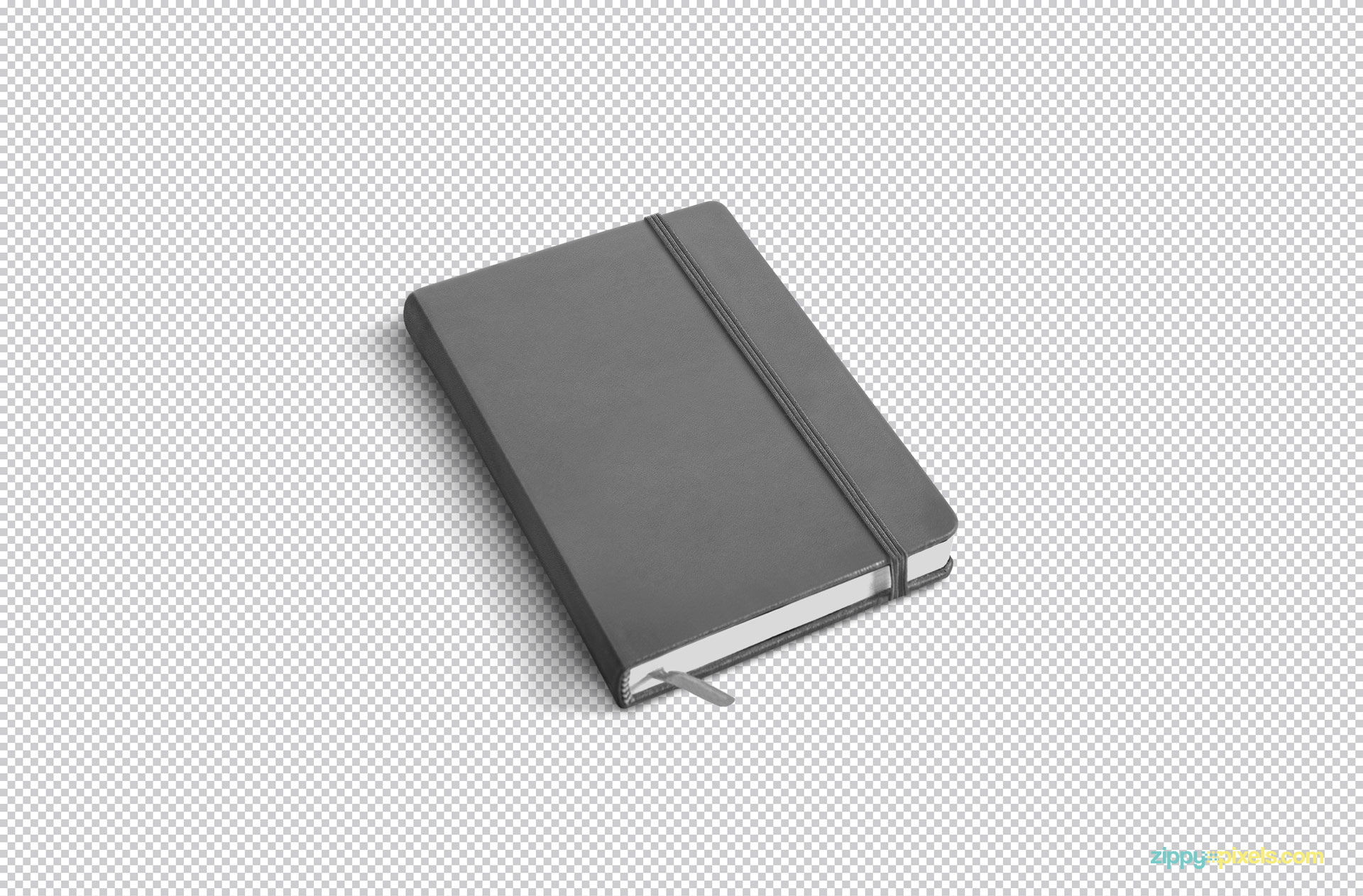 Simply use Adobe Photoshop to edit this free notebook mockup.