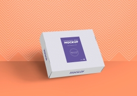 Free Gorgeous Box Packaging Mockup