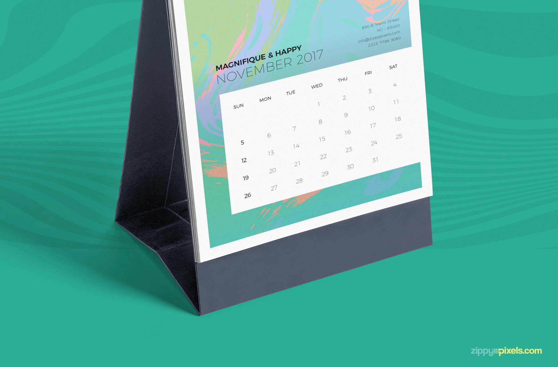 You can change base color of this table calendar
