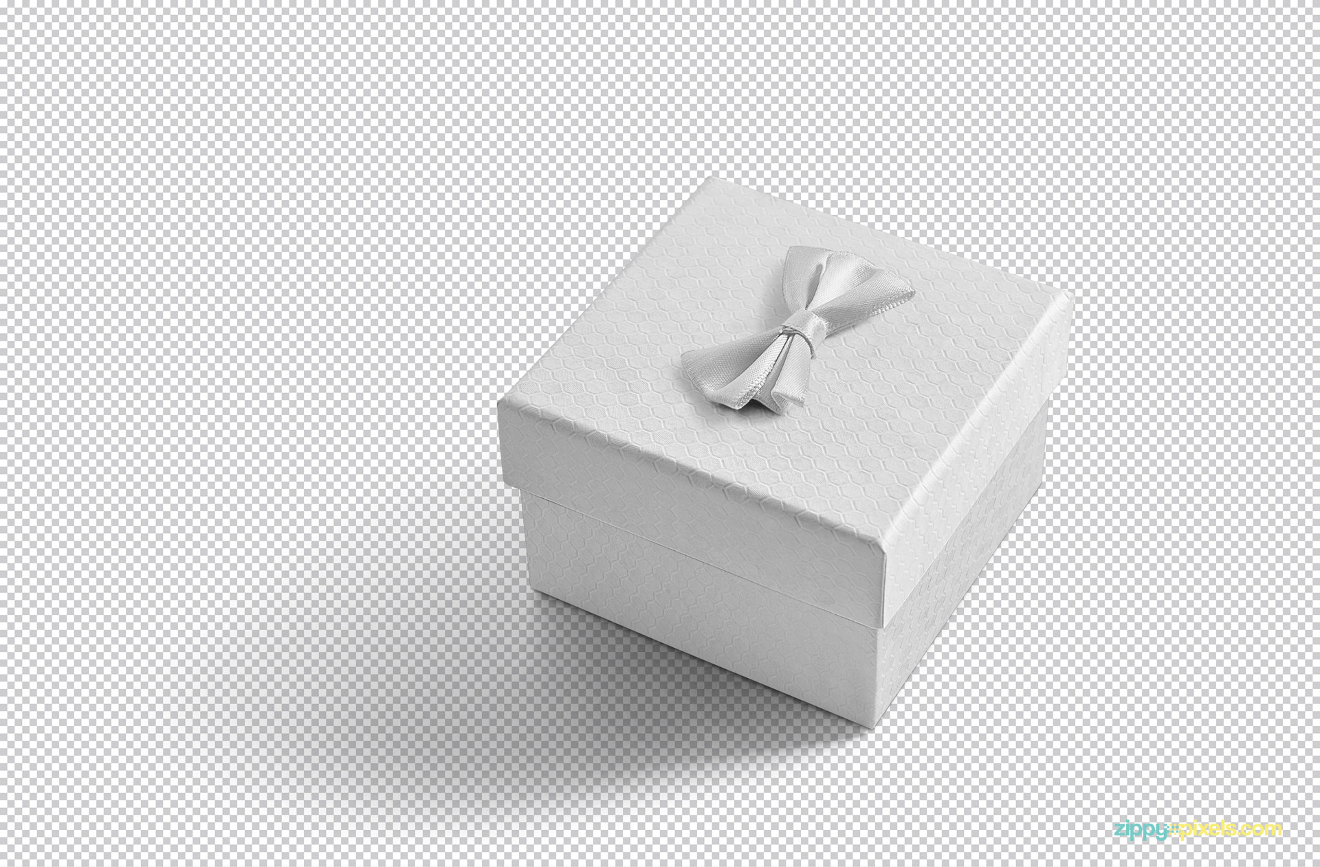 You can customize this gift packaging box mockup in Adobe Photoshop as per your liking.