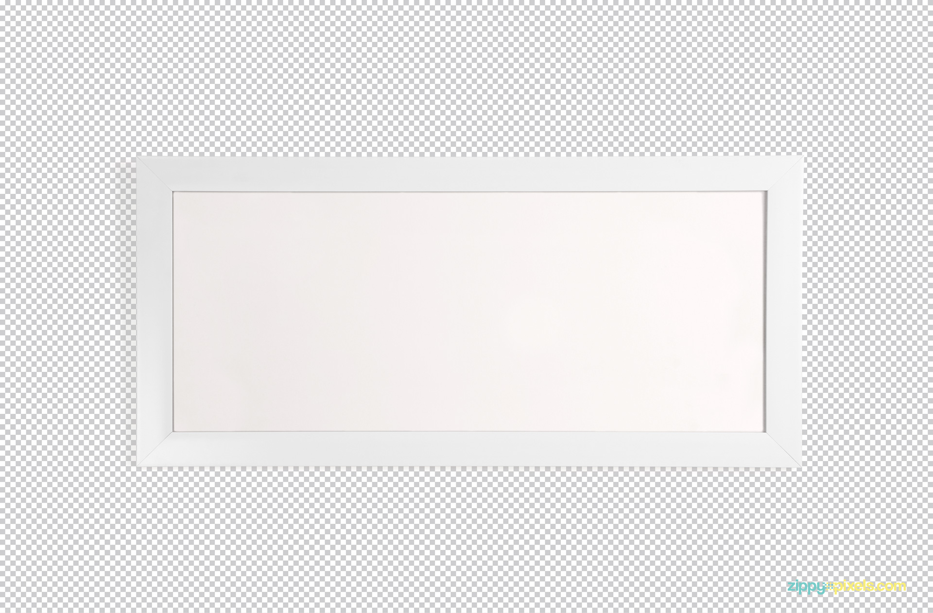 Use Adobe Photoshop to modify the photo frame mockups.