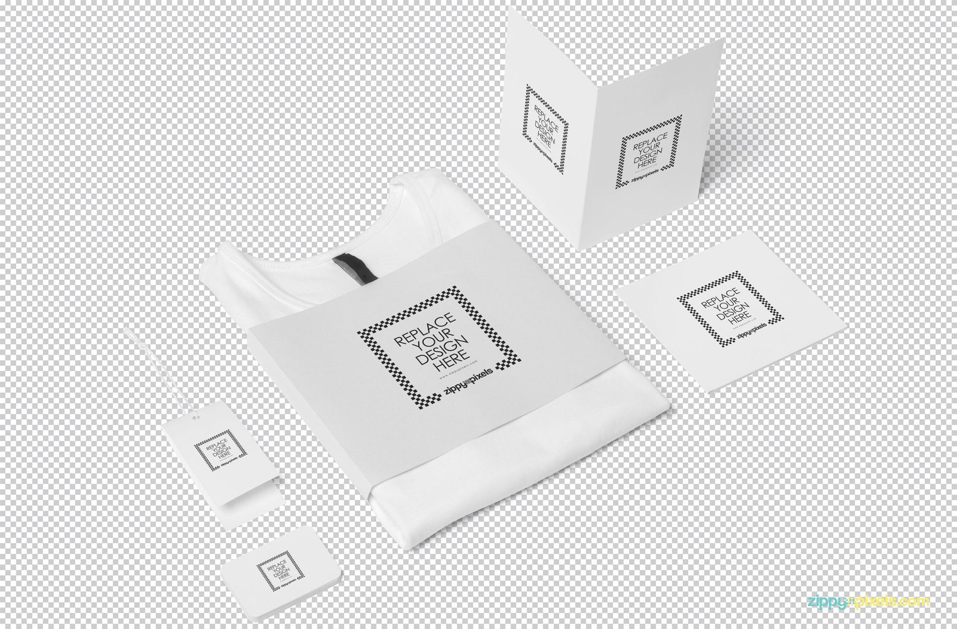 Free Fashion Branding Mockup Scene | ZippyPixels