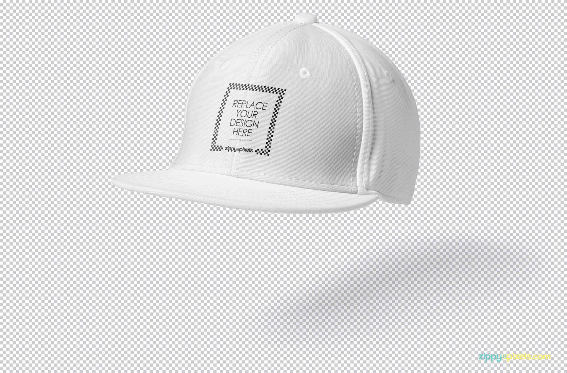 You can edit this snapback mockup PSD using Photoshop.