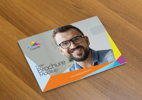 Free Landscape Brochure Mock Up