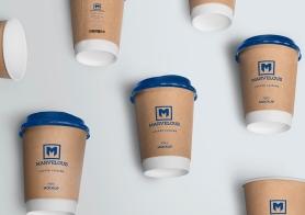 Free Awesome Coffee Cup Mockup