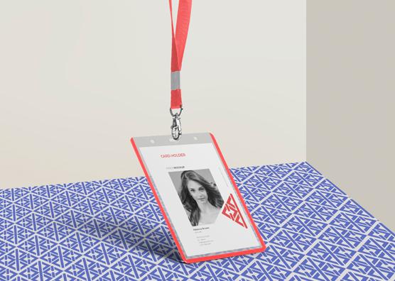 Free Corporate Id Card Mockup Zippypixels