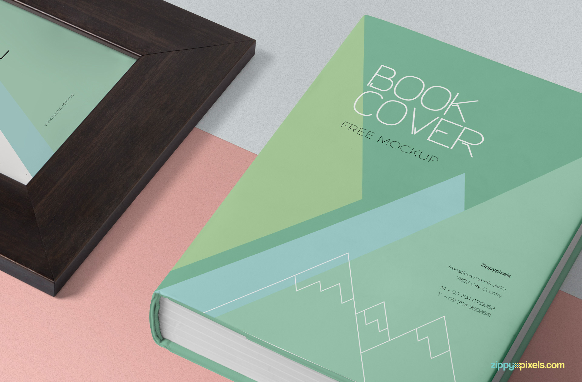 Stack and the inner side of the book offer the changeable color option.