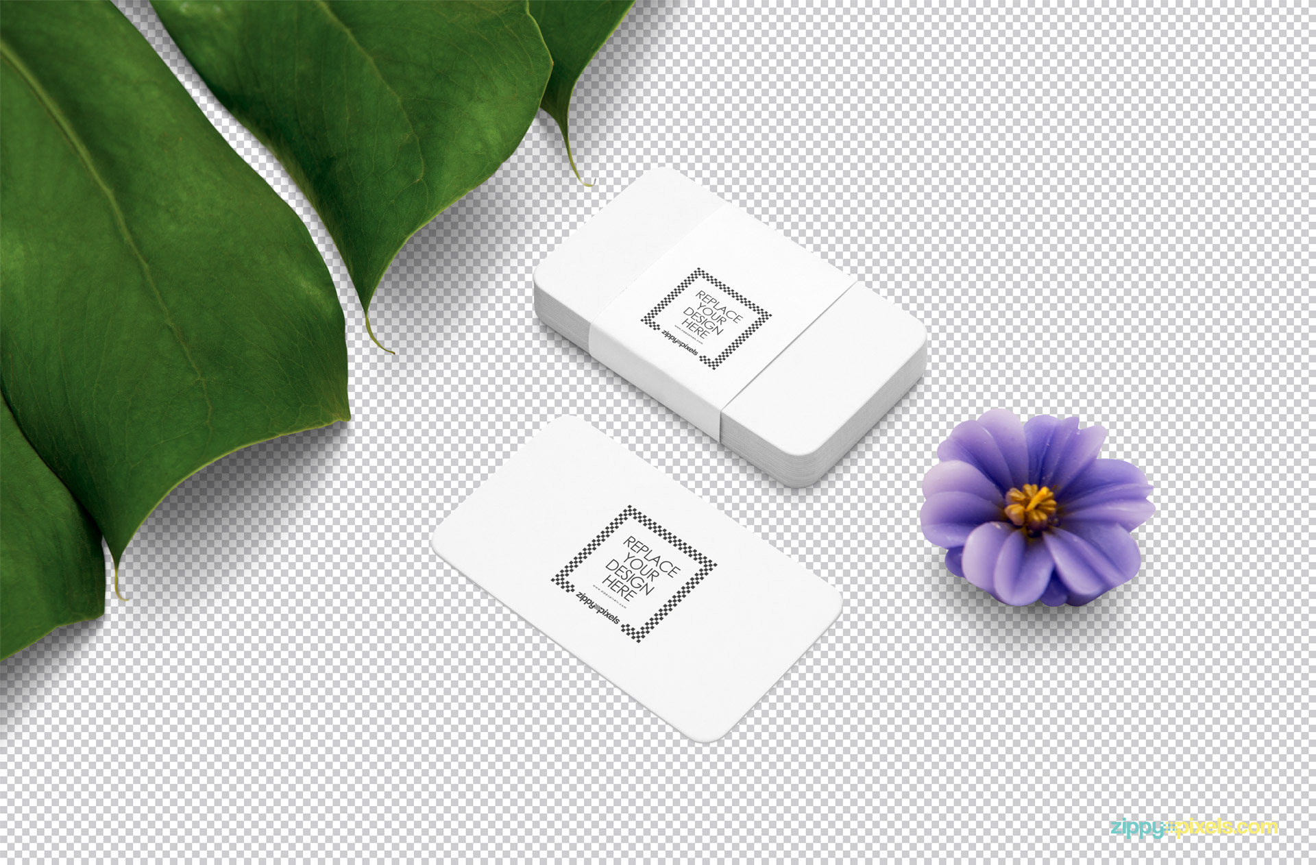 Use smart object option to add your designs in this business card mockup PSD.