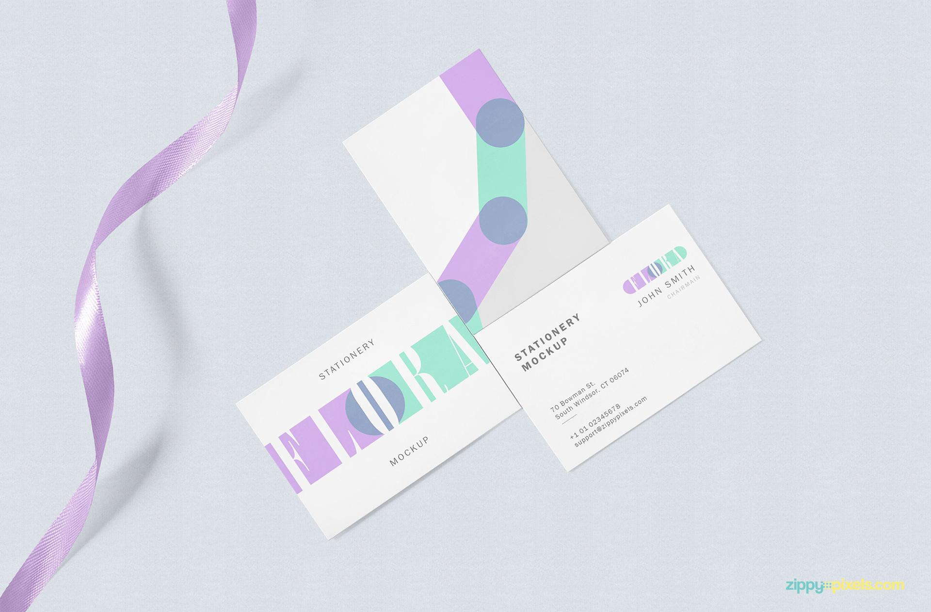 Free business card mock up zippypixels free business card mock up scene colourmoves