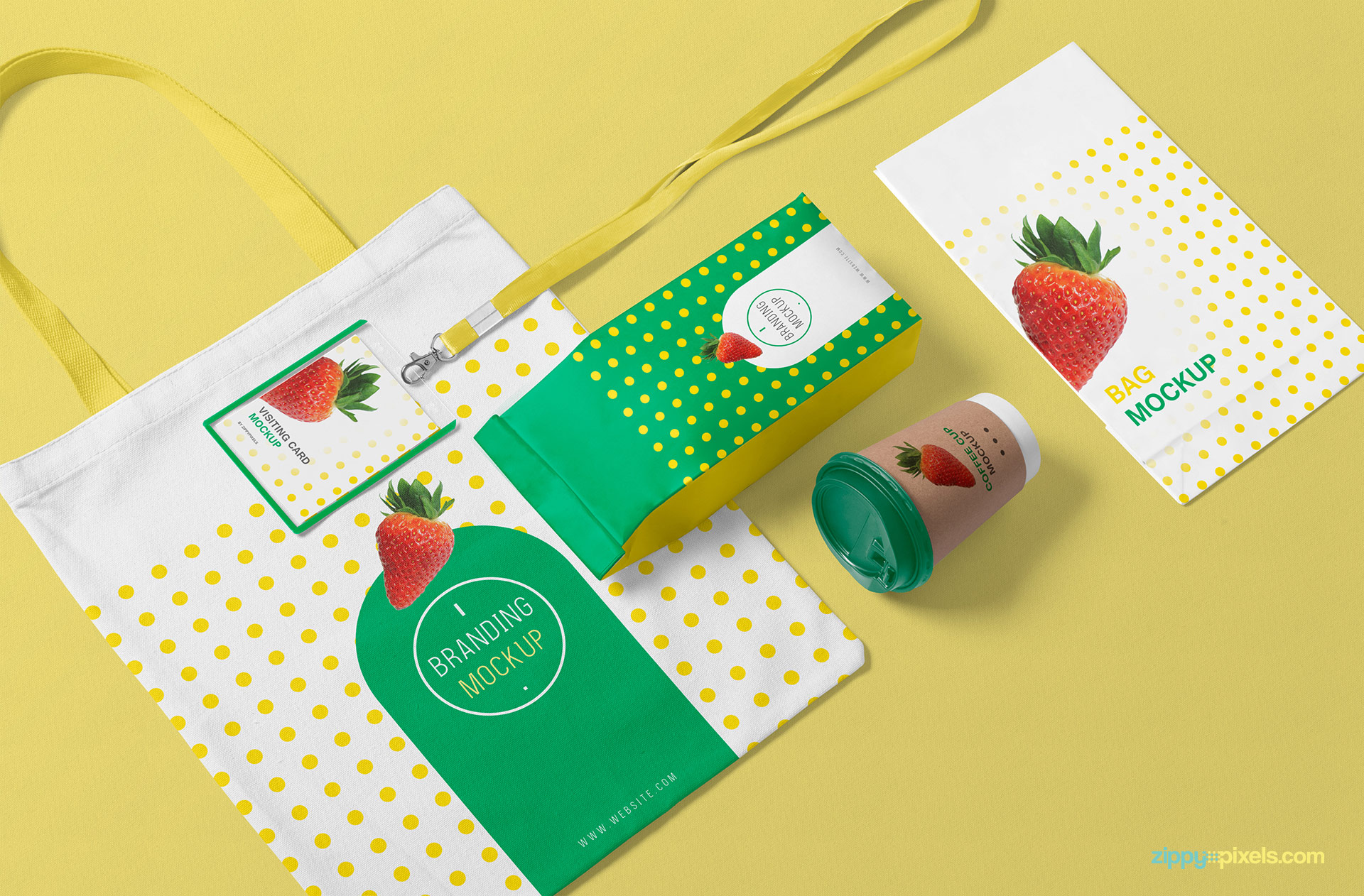 The background of the packaging pouch can be replaced with any color or design.