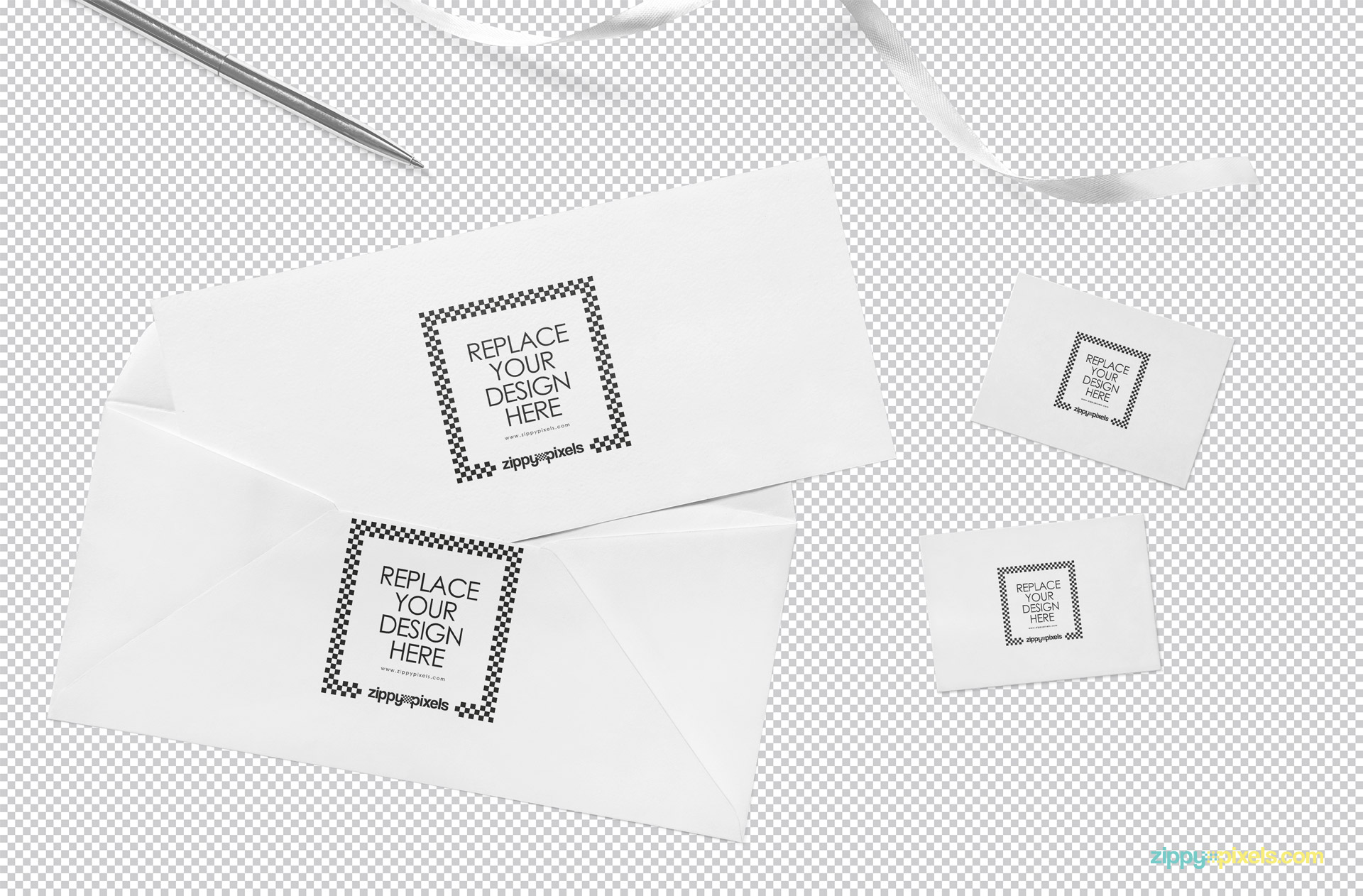 Use Photoshop to edit this Splendid invitation mockup PSD.