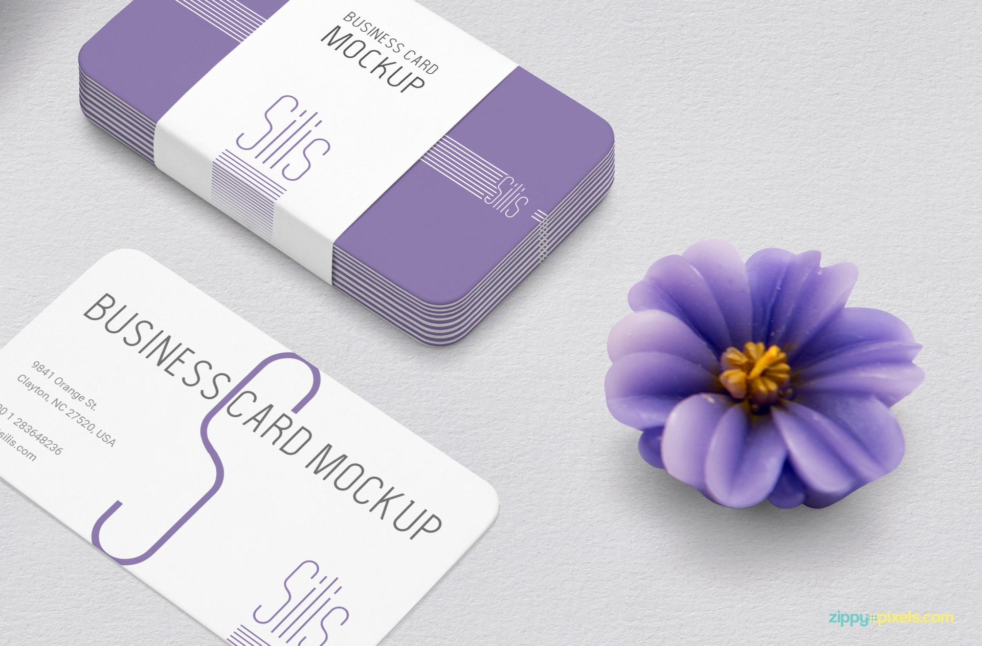 Business Card Mockup Free Psd Zippypixels