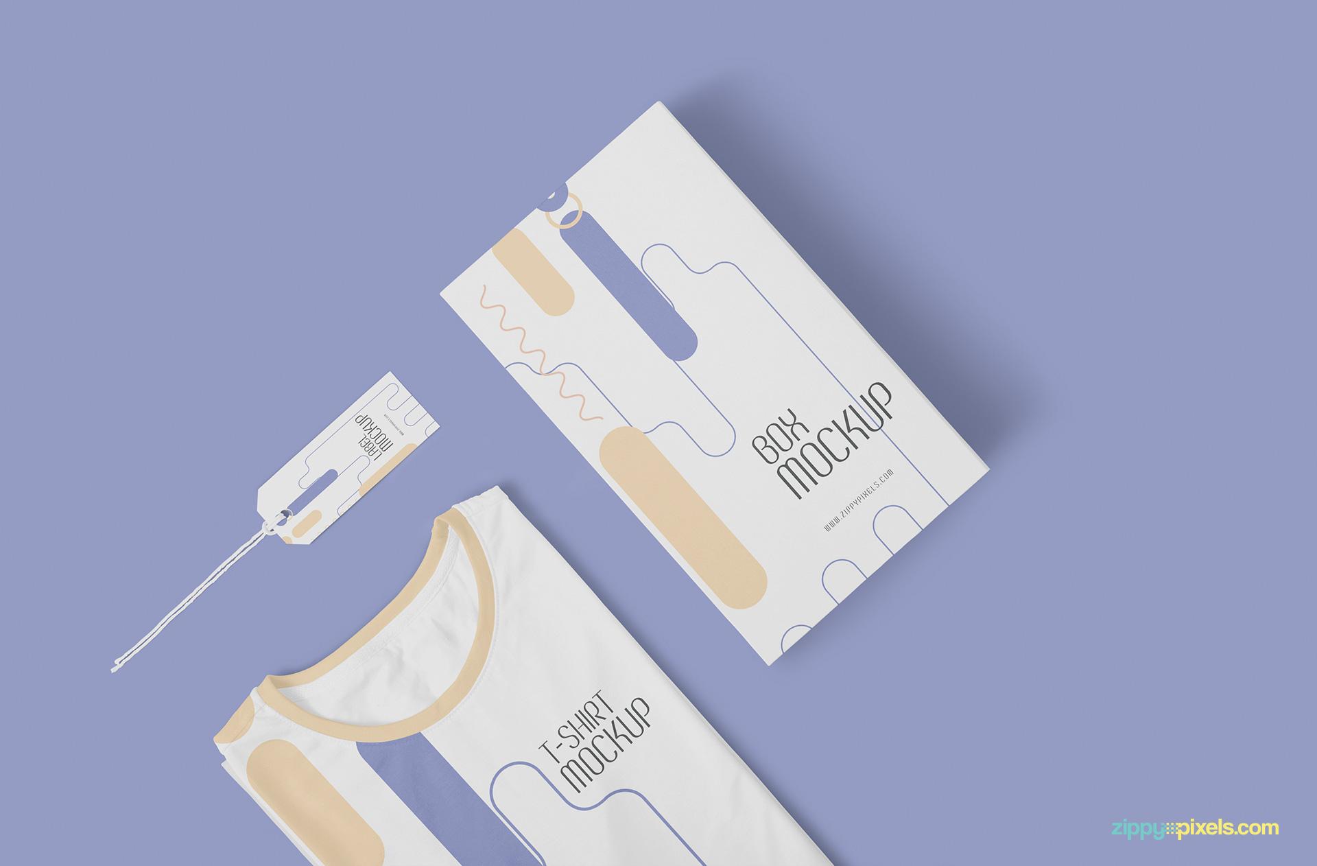 Free T Shirt Mockup Template Zippypixels
