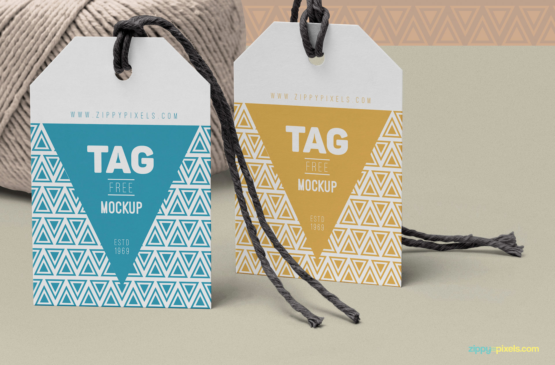 You can change the color of the strings of the tag.