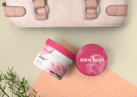 Free Cosmetic Packaging Mockup