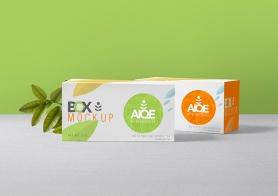 Free Wonderful Tea Packaging Mockup