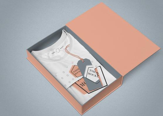 Thumbnail of the tee shirt mockup PSD.